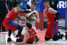 """Eurolyga: CSKA - """"Žalgiris"""" 99:97"""