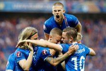 Didžiausia Europos futbolo čempionato sensacija – Islandija keliauja į ketvirtfinalį