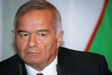 Anapilin iškeliavo Uzbekistano prezidentas I. Karimovas