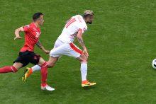 Europos futbolo čempionatas: šveicarai palaužė Albanijos rinktinę