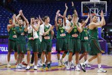 Lietuvos krepšinio rinktinė atskrido į Stambulą