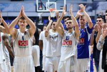 """Staigmena: """"Budučnost""""  parklupdė Eurolygos čempionus"""