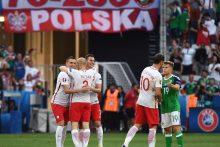 Lenkijos futbolo rinktinė Europos čempionatą pradėjo pergale prieš Šiaurės Airiją