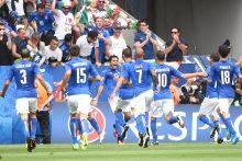 Italijos futbolininkai palaužė Švedijos rinktinę ir iškopė į aštuntfinalį