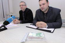 Spaudos konferencija Kauno apygardos prokuratūroje