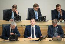 Vyriausybės valanda Seime