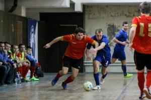 """Studentų staigmena salės futbolo čempiono titulą garantavo """"Lokomotyvo"""" klubui"""