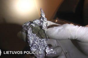 Klaipėdoje konfiskuota beveik 6 tūkst. psichotropinių tablečių