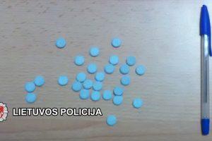 Vasarą Klaipėdos policija pradėjo 30 tyrimų dėl narkotikų