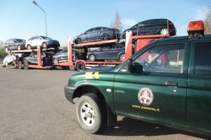 """Pasieniečiai sulaikė Prancūzijoje pavogtą automobilį """"Volkswagen Golf"""""""
