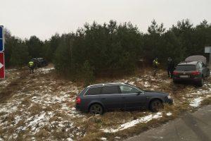 "Vokietijoje pavogto ""Land Rover"" kelionė baigėsi eglyne"