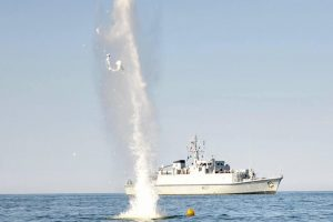 Per operaciją Baltijos jūroje rastos aštuonios minos ir viena torpeda