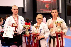 Europos karatė čempionate – 3 titulai lietuviams