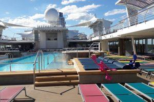 Uoste vieši naujutėlaitis kruizinis laivas
