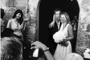 Toskanoje ištekėjo garsiausias Lietuvos modelis E. Vilkevičiūtė