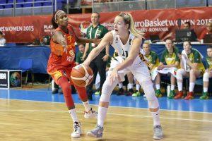 Lietuvos moterų krepšinio rinktinė pralaimėjo Europos čempionato starte