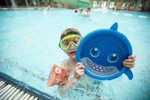 Vasarą į baseiną – pasišildyti