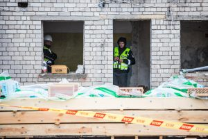 Dar viena nelaimė Kaune: statybose žuvo darbininkas