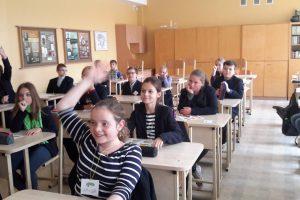 Kauno mokyklinukus sveikos mitybos mokys garsūs sportininkai