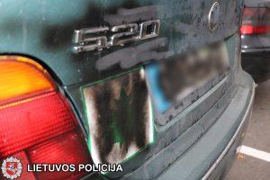 """Klaipėdoje surastas krepšinio klubo """"Neptūnas"""" automobilis"""