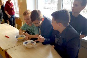 Moksleiviai pasižadėjo dažniau pusryčiauti