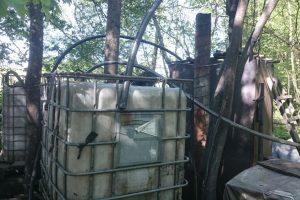 Plungės rajone siautėja naminės degtinės gamintojai