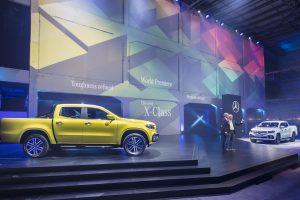 """Pristatytas pirmasis """"premium"""" pikapas – """"Mercedes-Benz"""" X klasė"""