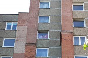 Klaipėdiečio bute – sovietinė vėliava