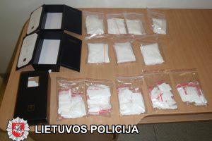 Vilniečiui pelną nešė vieni brangiausių narkotikų – kokainas