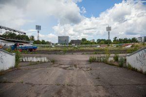 """Vilniaus meras: buvusi """"Žalgirio"""" stadiono erdvė turi būti patraukli"""