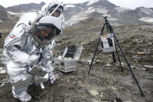 Skrydžiams į Marsą rengiamasi Austrijos Alpėse