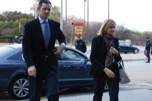Ispanijoje prasideda princesės Cristinos ir jos vyro teismas
