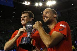 """Škotas ir brazilas tapo """"Didžiojo kirčio"""" dvejetų varžybų čempionais"""
