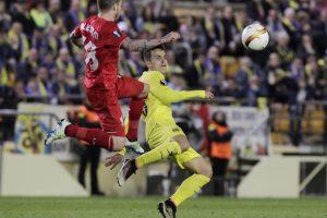 "UEFA Europos lyga: ""Šachtar"" ir ""Sevilla"" lygiosios bei ""Villarreal"" pergalė"