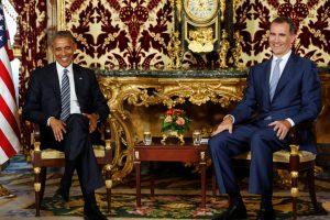B. Obama dėl šaudynių Dalase sutrumpino vizitą Ispanijoje