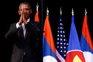 B. Obama: Korėjos raketų bandymai didina tarptautinę izoliaciją