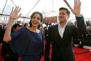 B. Pittas kaltina A. Jolie dėl pavojaus vaikų privatumui