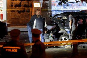 Tbilisyje susprogdintas opozicijos veikėjo automobilis
