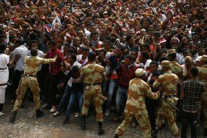 Dėl mirtinų protestų Etiopijoje paskelbta nepaprastoji padėtis