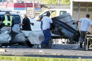 Pilotas stažuotojas iš JAV galimai tyčia sudaužė lėktuvą