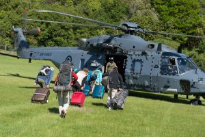 Iš žemės drebėjimo nuniokotos Naujosios Zelandijos evakuojami turistai
