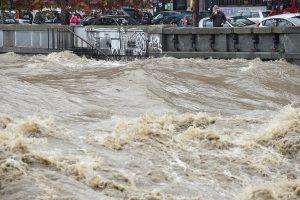 Sumaištis Italijoje: potvyniai galėjo nusinešti žmogaus gyvybę