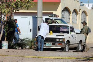 Meksikoje per susišaudymą žuvo jūrų pėstininkas ir penki nusikaltėliai
