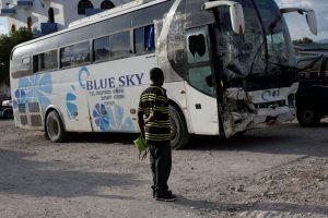 Haityje autobusui įsirėžus į minią žuvo 38 žmonės