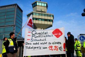 Streikai Berlyno oro uostuose tęsiasi
