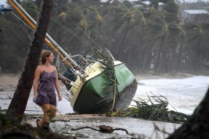 Ciklono nuniokota Australija primena karo zoną