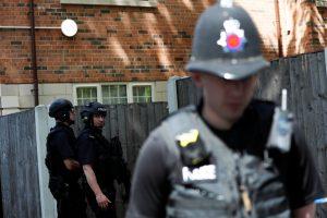 Dėl išpuolio Mančesteryje suimtas 23 metų vyras