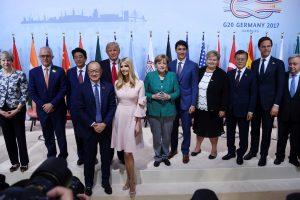 G-20 susitikimas: D. Trumpo nesutarimai su pasaulio lyderiais išlieka