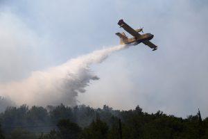 Miškų gaisrai Kroatijoje suvaldyti, Juodkalnijoje – tebeplinta