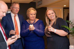 Norvegijos premjerė skelbia pergalę parlamento rinkimuose